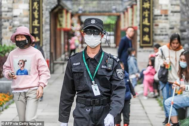 rokid thermal smart glasses china afp via getty images
