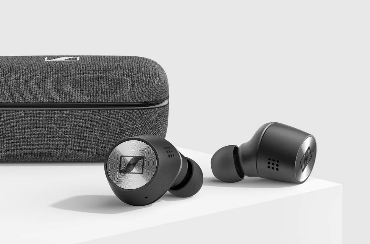 sennheiser momentum true wireless 2 earbuds black