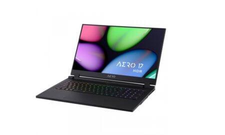 Gigabyte Aero 17 4K HDR laptop