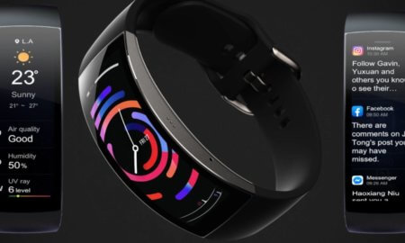 amazfit x ecg heart rated curved display smart band tracker