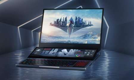asus rog zephyrus 15 dual screen laptop