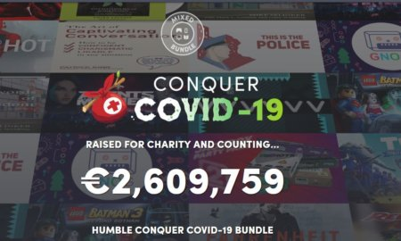 humble bundle conquer covid 19 promotion