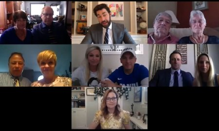 The Office Cast Reunites for Zoom Wedding_ Some Good News with John Krasinski Ep. 7 13-1 screenshot