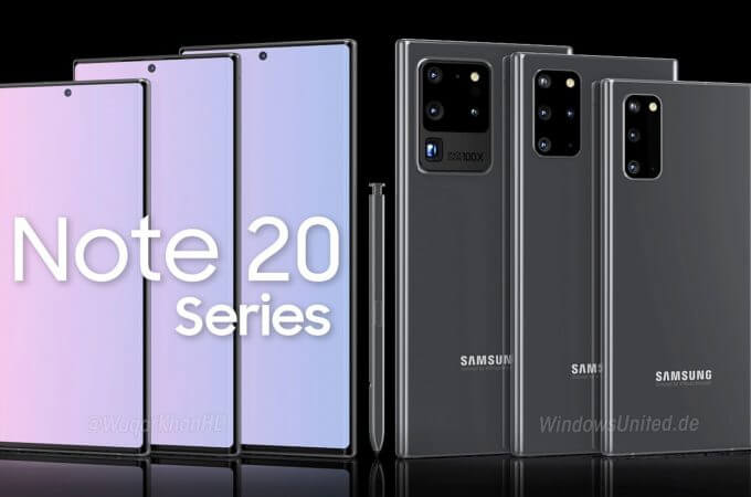 Galaxy Fold 2 and Galaxy Note 20 To Be Launched Online?