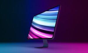 MacRumors mockup of iPad Pro-style iMac