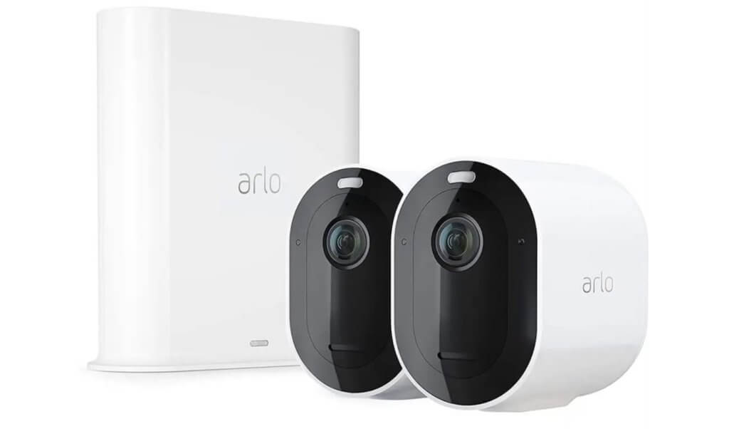 arlo pro 3 home security kit