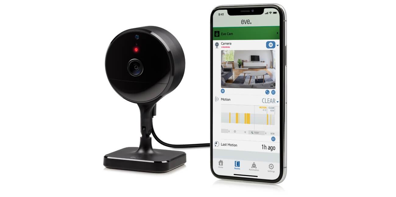 eve cam homekit security camera indoor