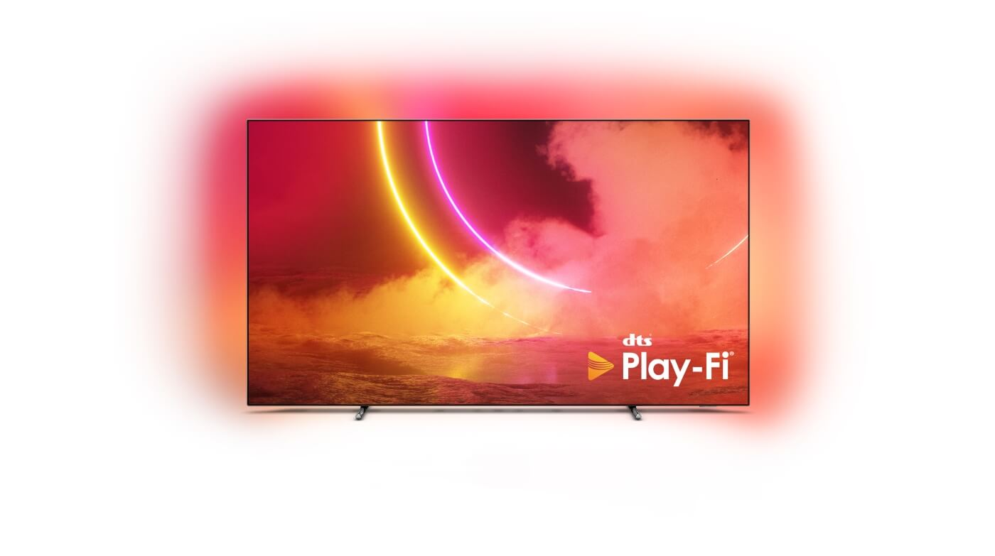 philips OLED805 dts play-fi tv