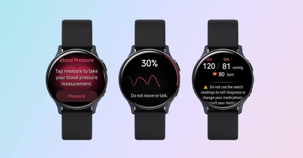 samsung watch active 2 blood pressure monitoring
