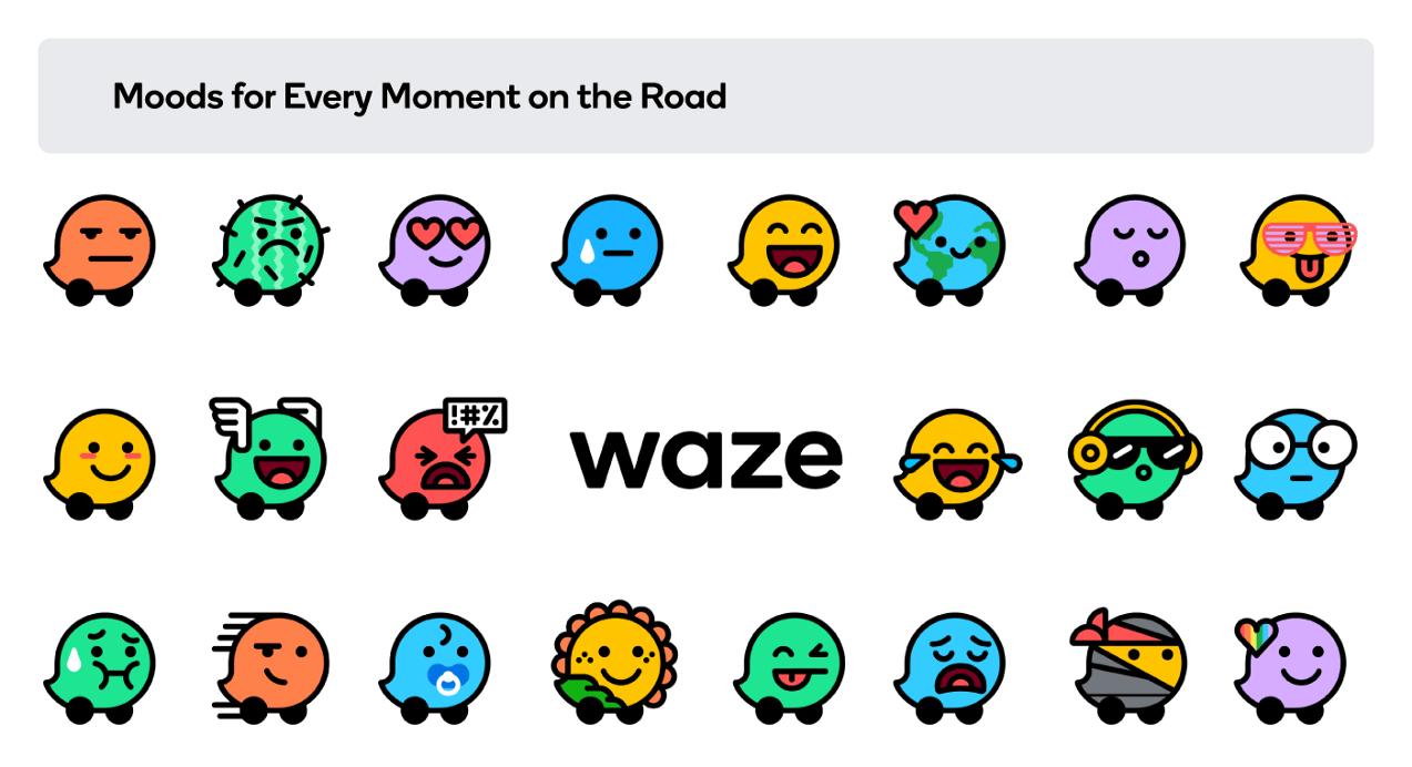 waze new moods