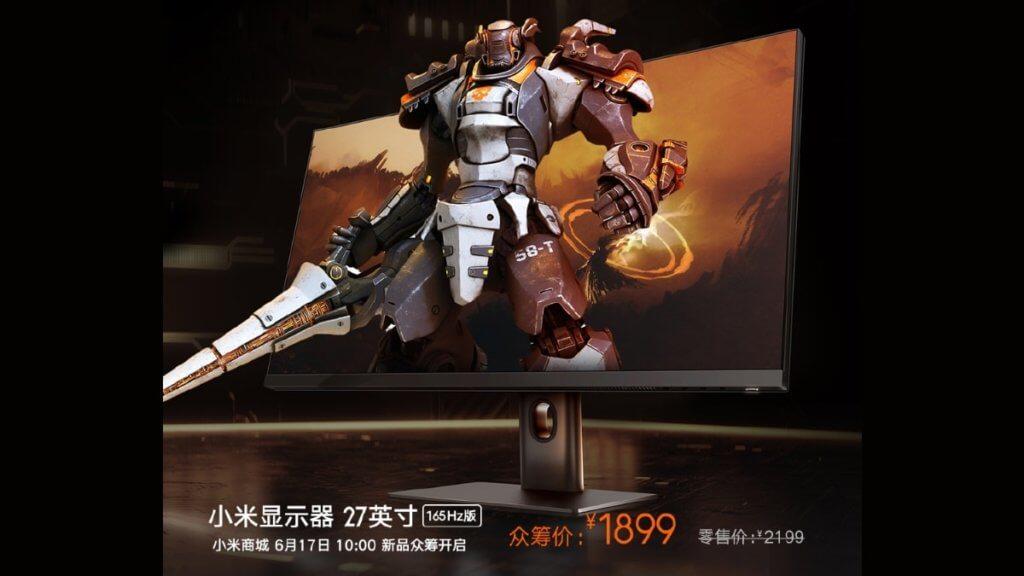 xiaomi gaming monitor 27 inch