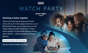 amazon prime watch party