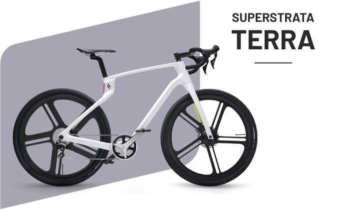 arevo superstrata terra e-bike