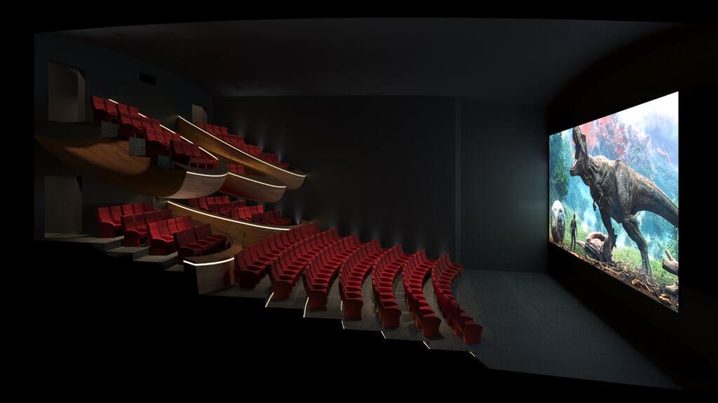 oma cinema concepts vertical cinema