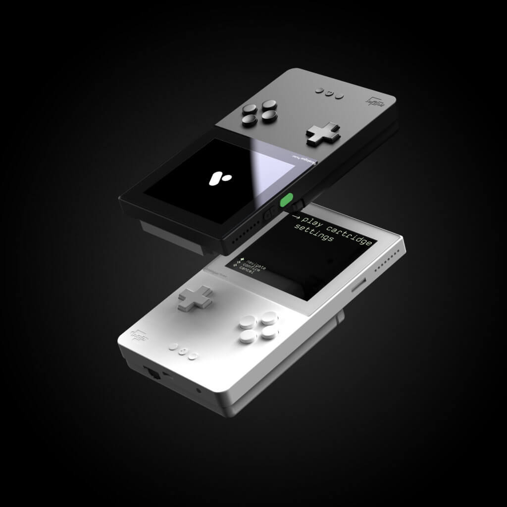analogue pocket console white