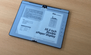 e ink flexible epaper display