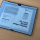 e ink flexible epaper display