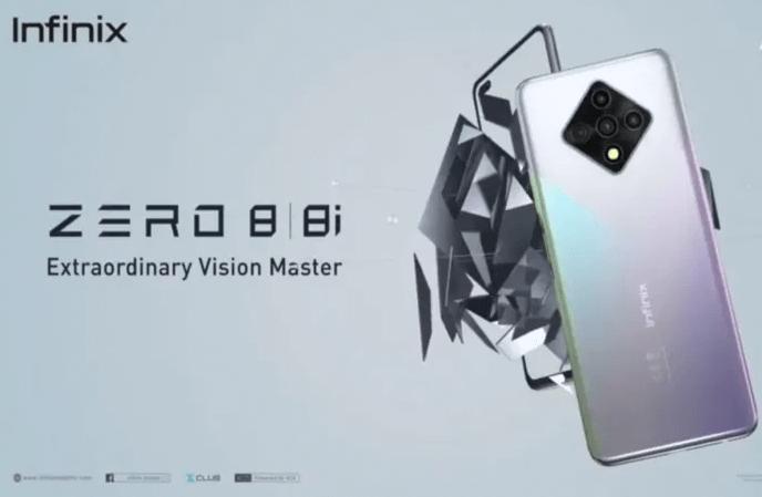 infinix zero 8 budget smartphone