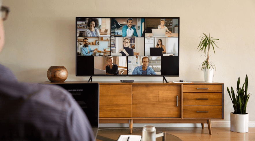 workplace rooms portal tv