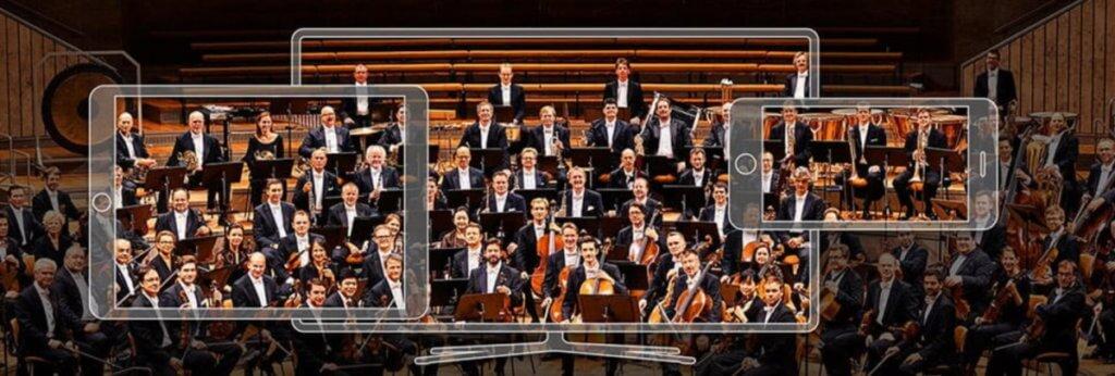 Berliner Philharmoniker digital music hall