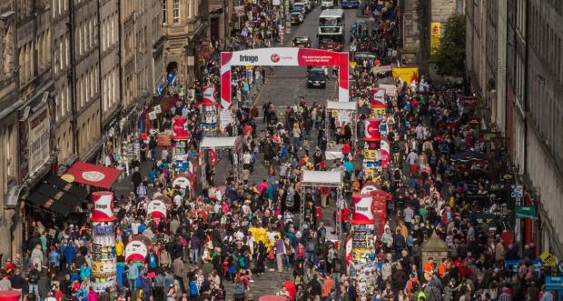 The Edinburgh Fringe by James Ratchford