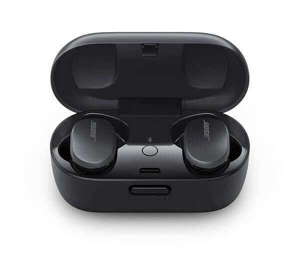 bose quietcomfort earbuds charging case