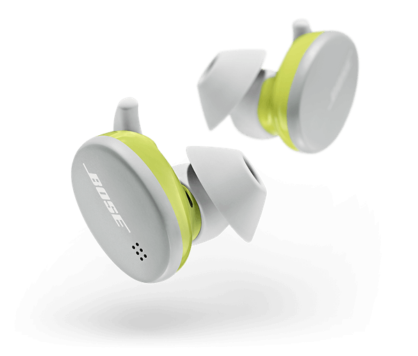 bose sports earbuds white