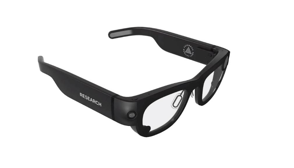 facebook project aria AR glasses