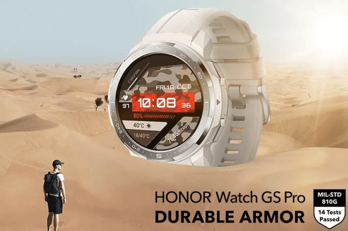 honor watch gs pro mil-std 810G