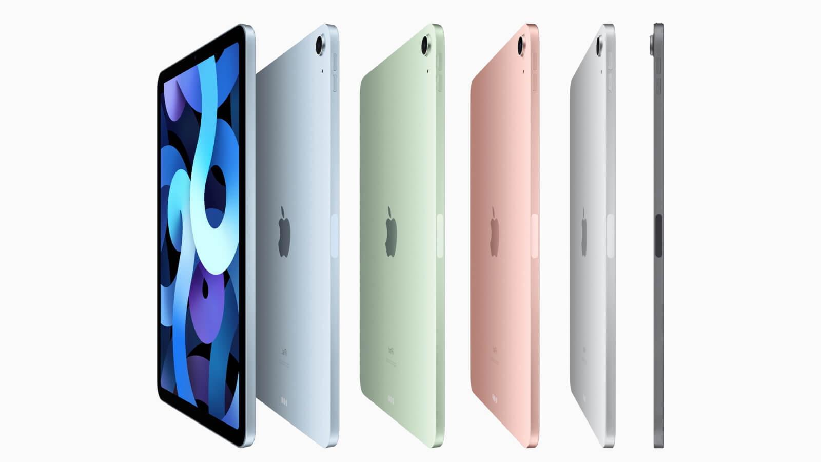 ipad air 2020 colors
