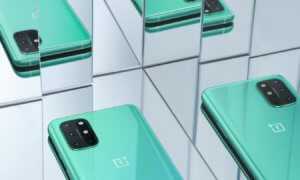 one plus 8T green