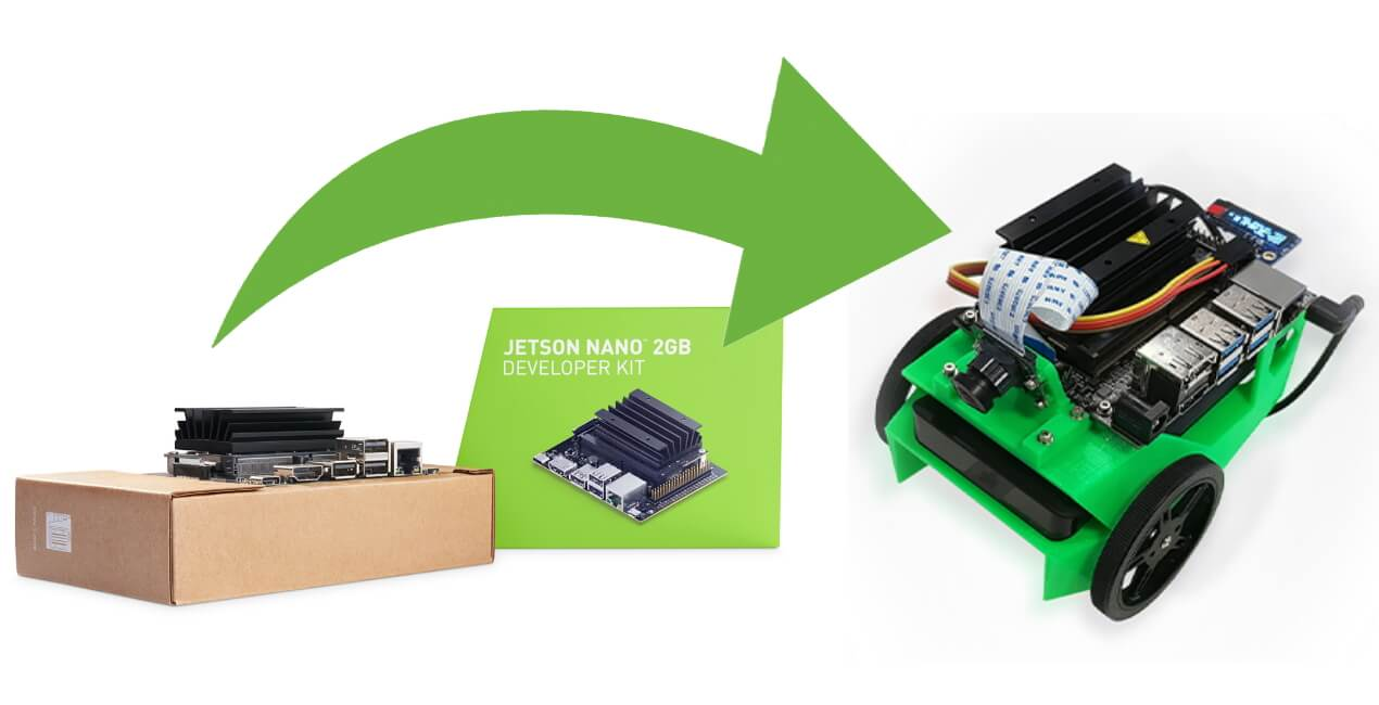 nvidia jetson nano 2gb build robots