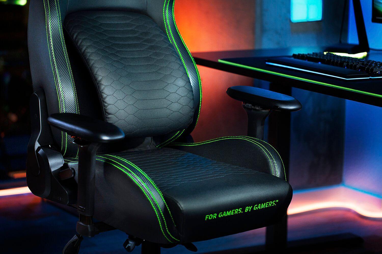 razer iskur gaming chair lumbar support