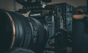 lumix camera up close