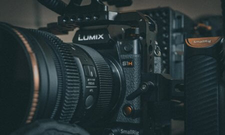 lumix camera up close