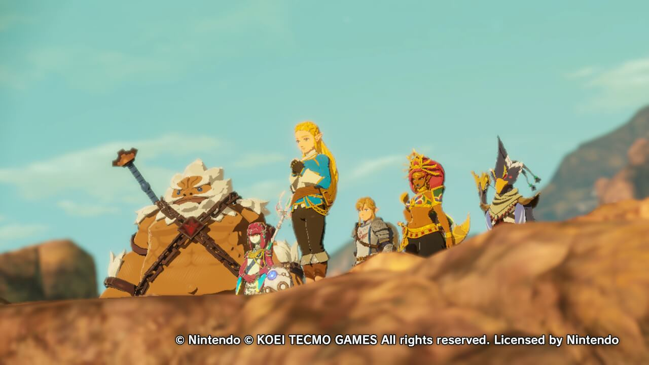 Review Hyrule Warriors Age Of Calamity Mostly Succeeds As Breath Of The Wild Prequel