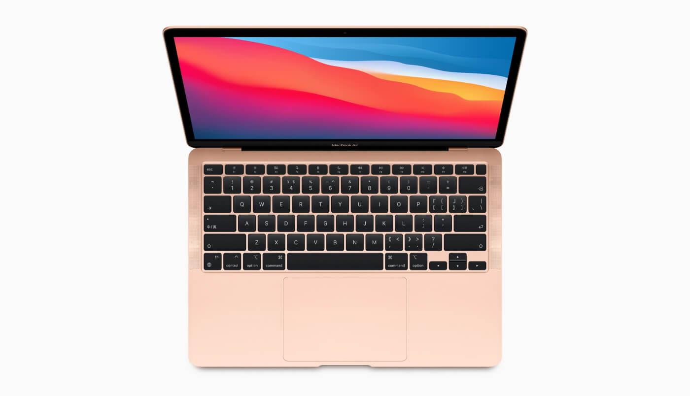 apple new 2020 macbook air m1