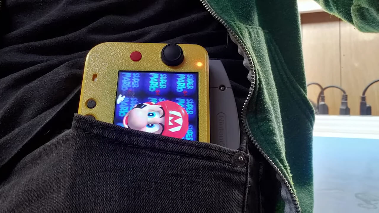 World's Smallest Nintendo 64 portable gmanmodz