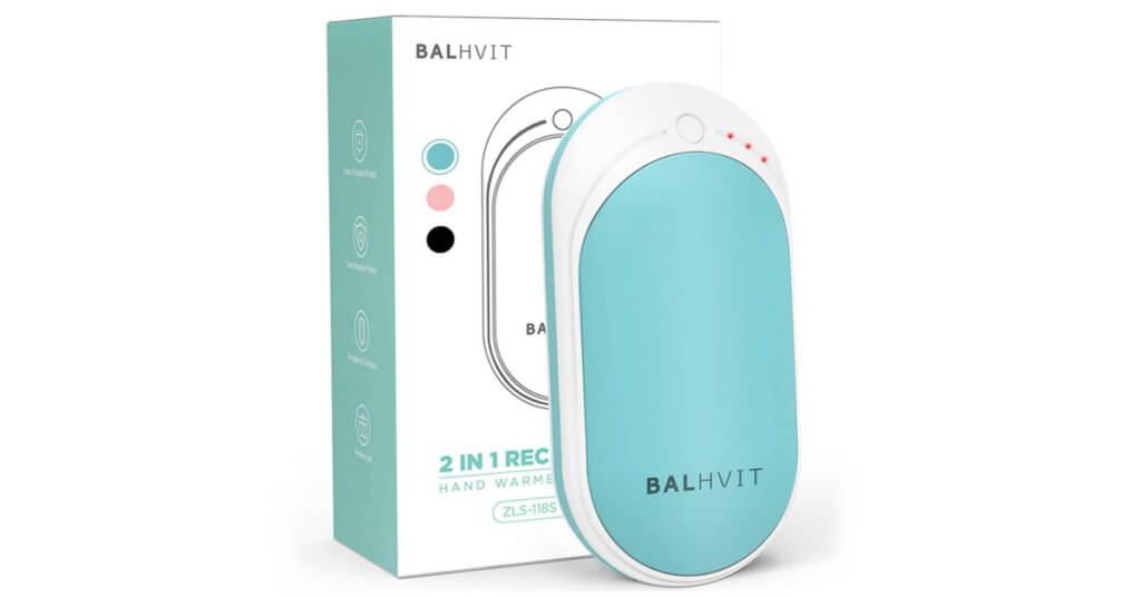 balhvit 2 in 1 hand warmer power bank