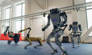 boston dynamics robots dance