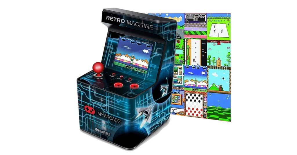 dreamgear arcade machine handheld gaming console