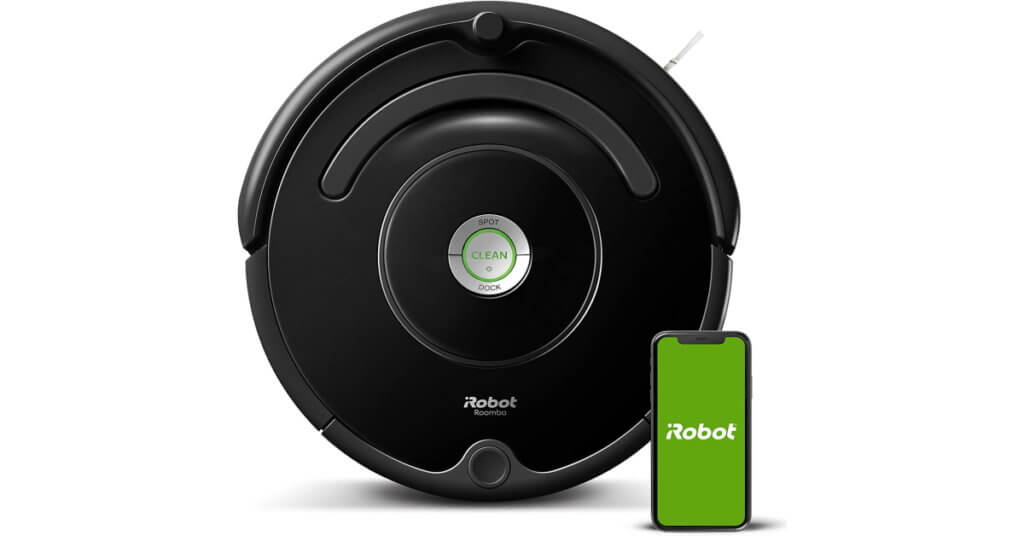 irobot roomba 675 with alexa and google assistant
