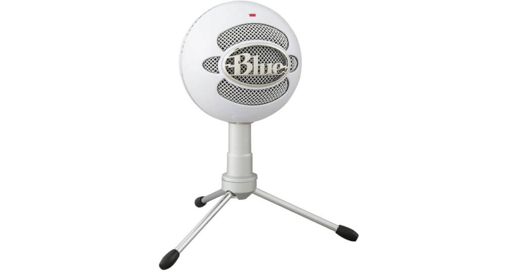 blue Snowball iCE USB Mic with stand