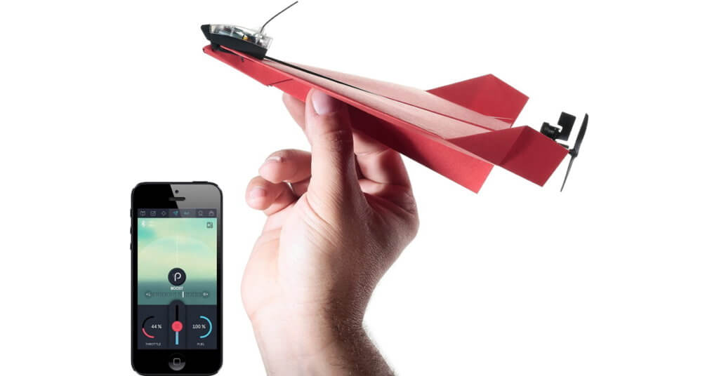 remote controlled smartphone paper airplane power 3.0