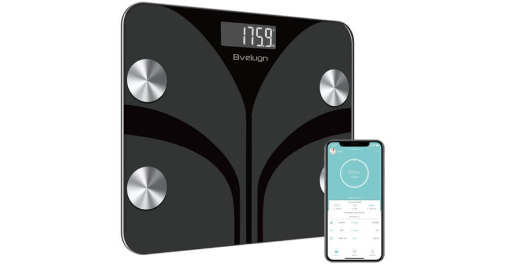 smart scale with bmi and phone app
