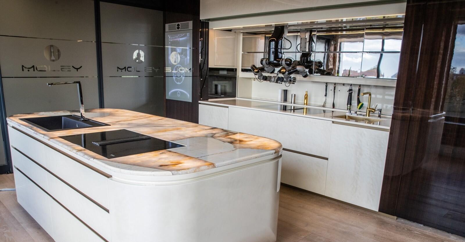 moley robotic kitchen ces 2021 2