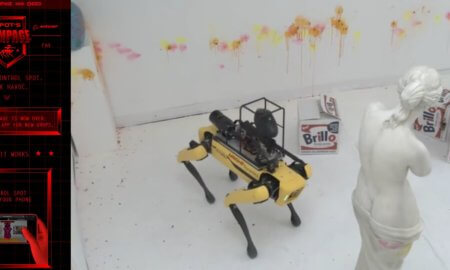boston dynamics spot robotic dog rampage website