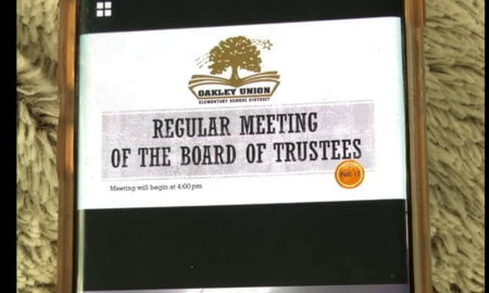 public webexx call went viral board of trustees