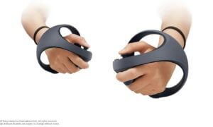 PS5 VR controllers orb shape
