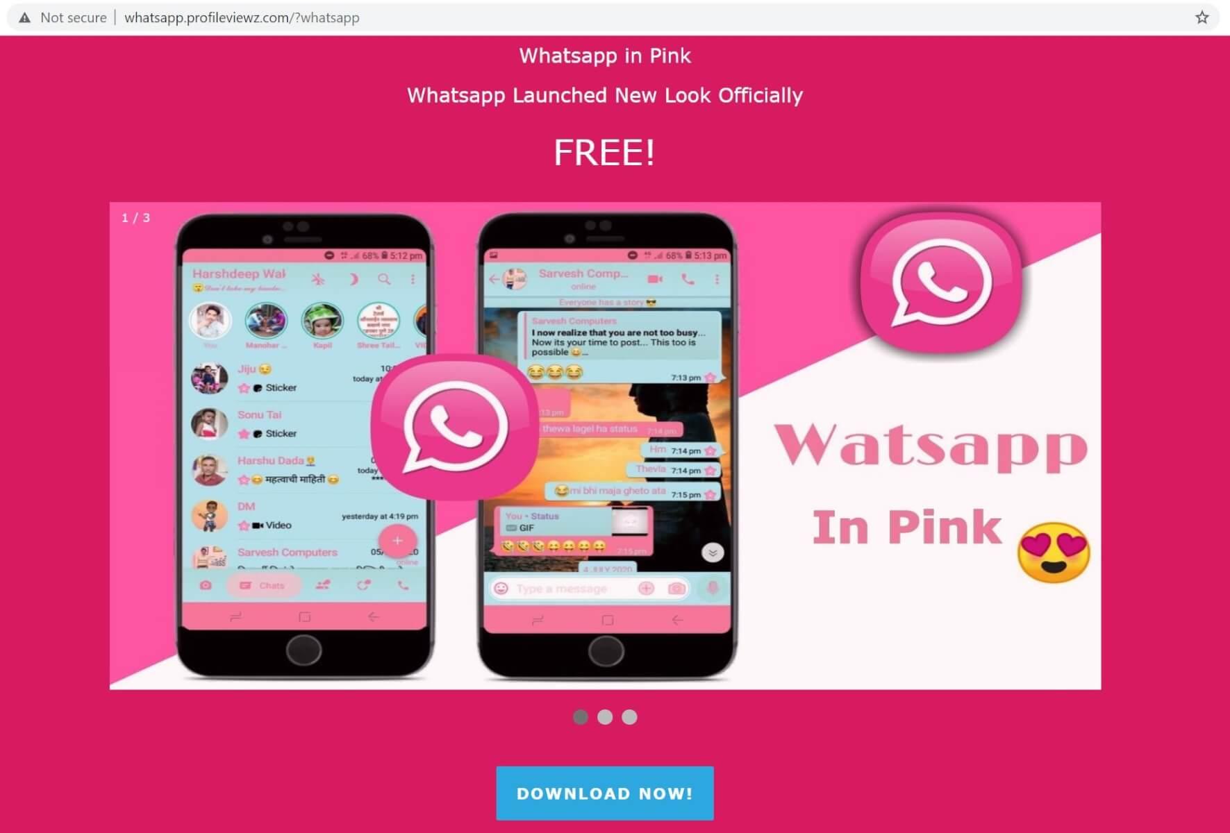 WhatsApp-Pink